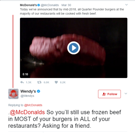wendy's one