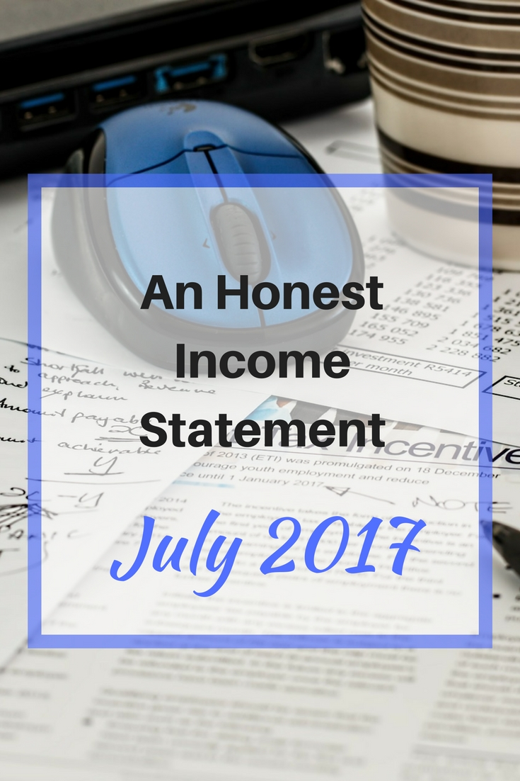 An Honest Income Statement july